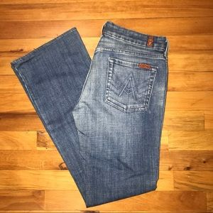 7 For All Mankind Jeans 30 'A Pocket'